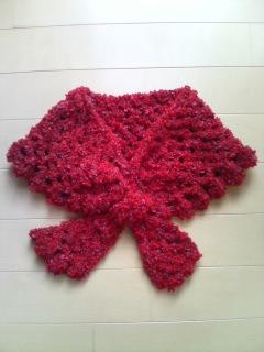 手編みのミニコサージュ♪ (編み図あり)の作り …